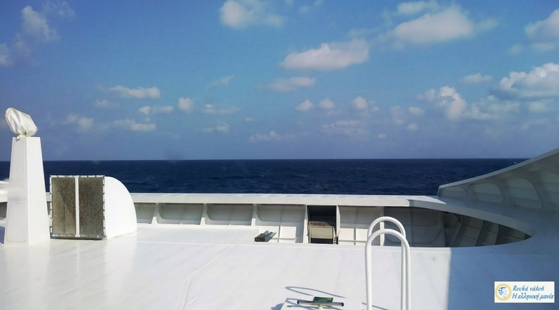 Výhled z lode