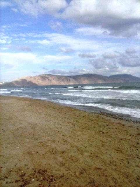 Plaž v Kavrosu