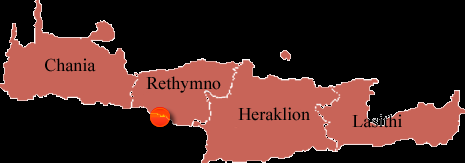 Preveli-mapa