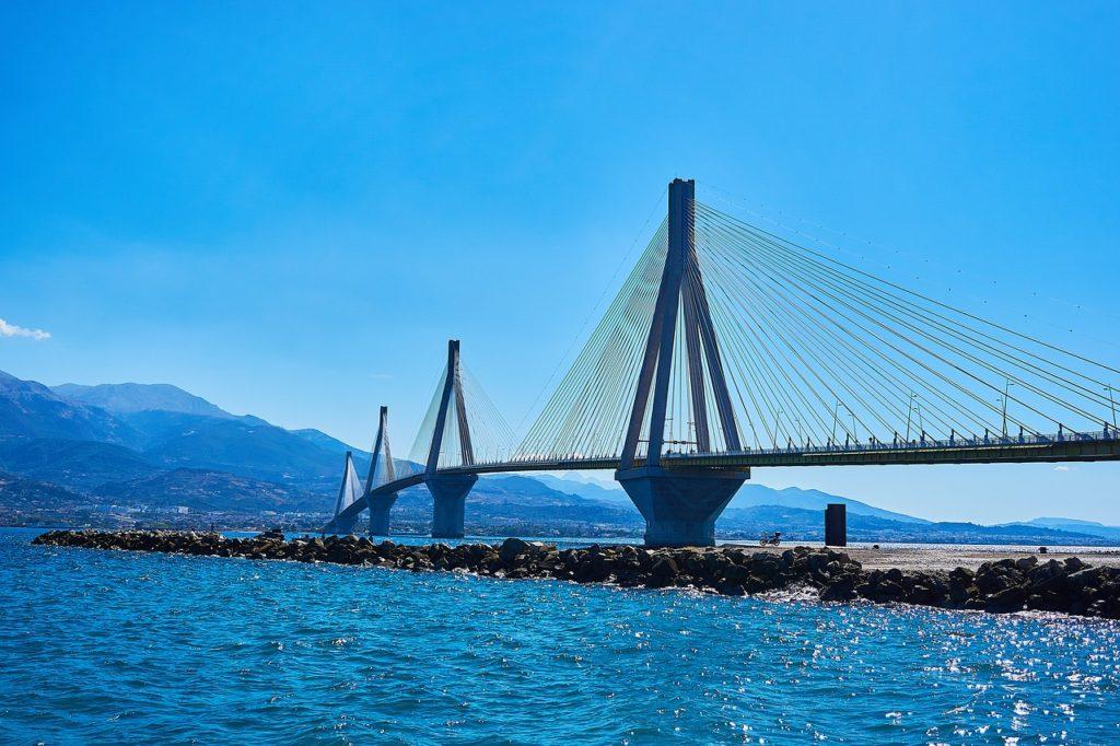 Most Rio, Řecko